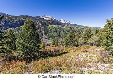 Colorado Mountain Fall Landscape