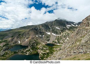 Colorado Mountain Lakes Landscape