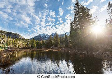 Colorado mountains - Mountain Landscape in Colorado Rocky ...