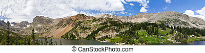 Colorado Mountains Panoramic Landscape