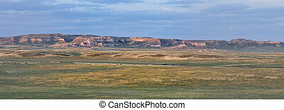 Colorado prairie panorama - Pawnee National Grassland in ...