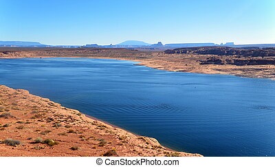 Colorado river. Arizona.USA