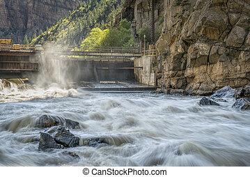 Colorado River at Shoshone Power Plant