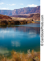 Colorado River at the Grand Canyon