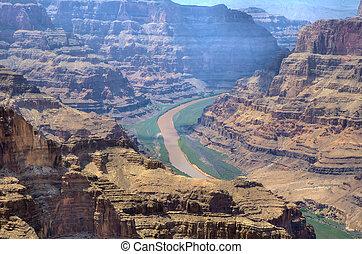 Colorado River between the Grand Canyon