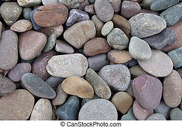 A background image of Colorado river rocks.