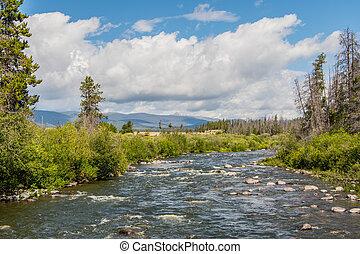 Colorado River South of Rocky Mountain National Park