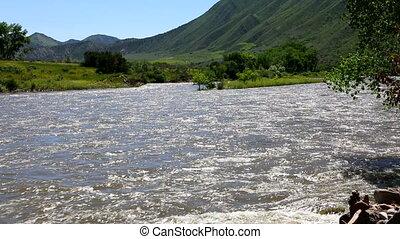 Colorado River USA - The Colorado River as it flows west...