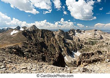 Rocky Mountain High Landscape