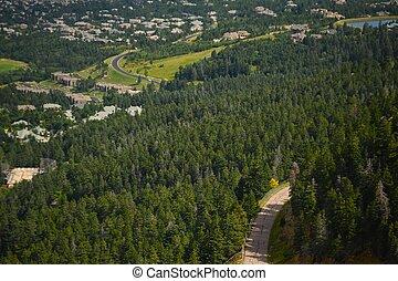 Colorado Springs, Colorado USA. Broadmoor Area