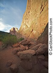 Colorado Springs Nature. Garden of the Gods is a Public Park...