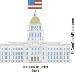Colorado State Capitol Building, Denver, United States of...