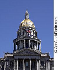 Colorado State Capitol in Denver, Colorado