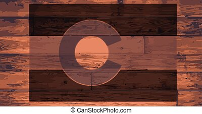 Colorado State Flag Brand