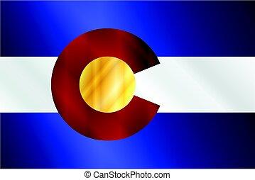 Colorado State Flag Gloss