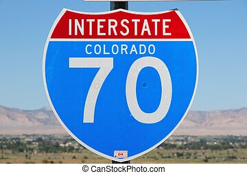Interstate 70 - Colorado, United States - famous Interstate...