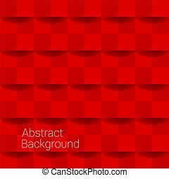 colorare, astratto, fondo, illustrazione, rosso