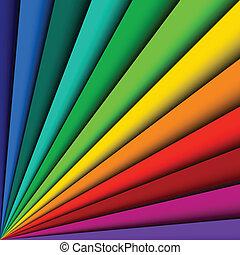 colorare, astratto, linee, spettro, fondo