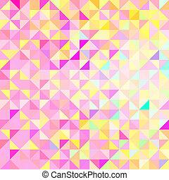 colorare, astratto, vettore, geometrico, fondo
