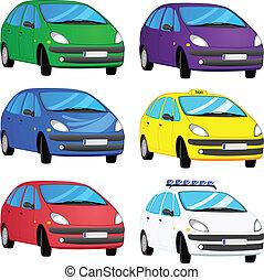 colorare, automobili