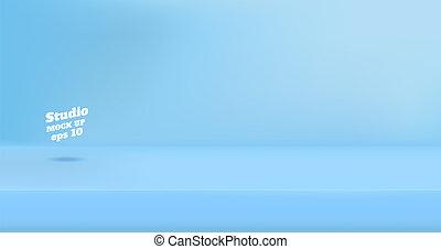 colorare, bandiera, spazio, vuoto, copia, contenuto, stanza, vettore, prodotto, studio, design., sito web, tavola, pubblicizzare, blu, sfondo pastello, mostra