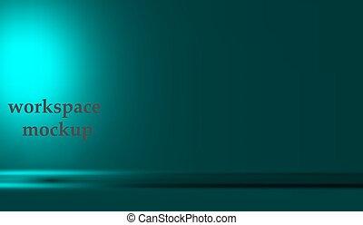 colorare, bandiera, spazio, vuoto, metallo, copia, contenuto, stanza, vettore, vivido, prodotto, design., studio, sito web, tavola, pubblicizzare, sfondo blu, mostra