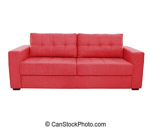 colorare, divano, posti, confortevole, tre