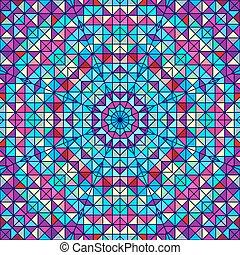 colorare, fondo., astratto, vettore, geometrico