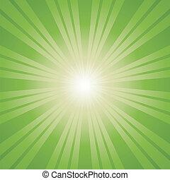 colorare, fondo., verde, scoppio