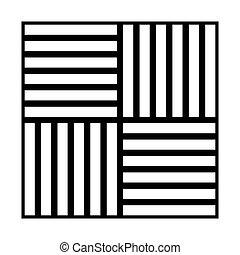 colorare, laminate, nero, pavimentazione, icona