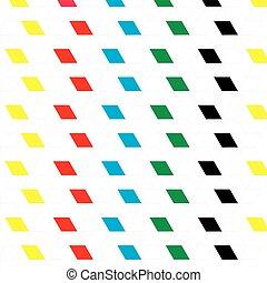 colorare, modello, astratto, vettore, geometrico