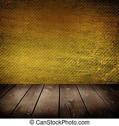colorare, parete, stanza