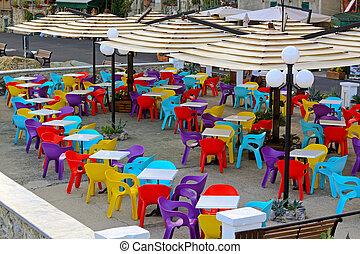 colorare, sedie
