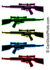 colorare, snipers