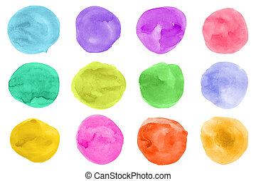 colorato, macchie