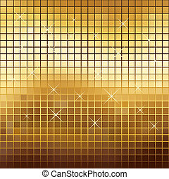 colorato, oro, astratto, sfavillante, fondo., mosaico