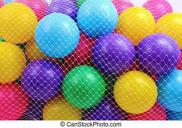 colorato, palle