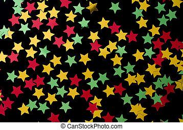 colorato, stelle