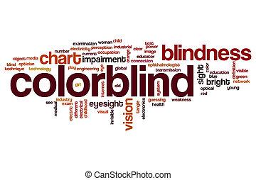 colorblind, parola, nuvola