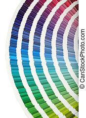 colore muestras