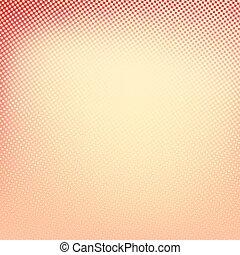 colore quadrato, giallo, halftone, fondo., forma, bandiera, rosso