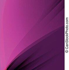 colore rosa scuro, astratto, fondo, curv