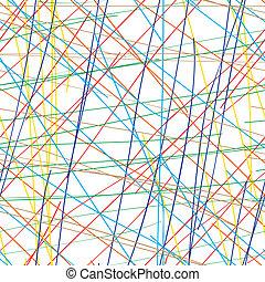 colore sfondo, -, linee, seamless, vettore, eps8, bianco