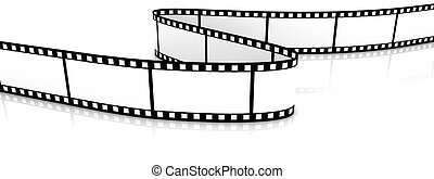 Colored 3d blank films zigzag - 3d blank film zigzag on...