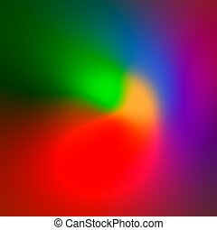 Colored Abstract Background Tones - Colorful
