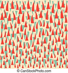 Colored abstract geometric pattern