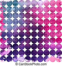 Colored Abstract Hand Painted Watercolor Background Seamless Pattern. Illustration
