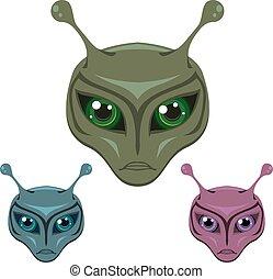 Colored Aliens