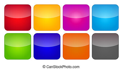 Colored Application Icons for Mobile Phones and Tablets,...