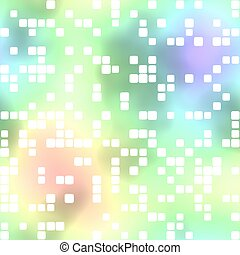 Colored background. Squares